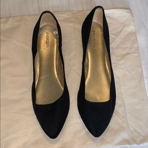 Target pointed toe ballet flats